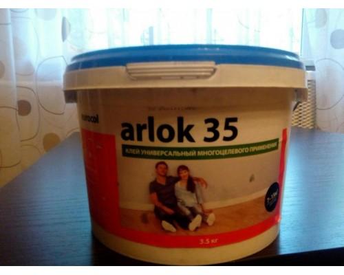 Клей универсальный 3,5кг (для впитывающих, невпитывающих и вертикальных оснований) Arlock 35