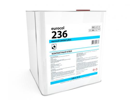 Клей Forbo 236 Eurosol Contact Plus контактный клей/3,8 кг