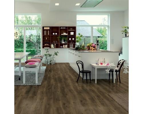 Виниловый ламинат Pergo Vinil Classic Plank Optimum Rigid Click V3307-40019 Дуб Кофейный Натуральный