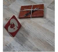 Виниловый ламинат Vinilam Click 4 мм 64555 Дуб Лейпиг
