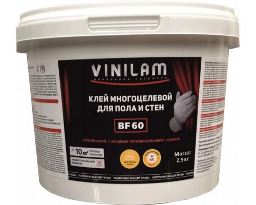 Клей универсальный Vinilam BF60 2,5кг (для впитывающих, невпитывающих и вертикальных оснований)